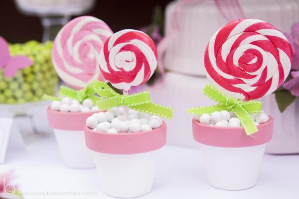 Pink Lollipop Flowers