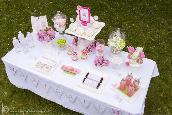 Garden Party Candy Buffet