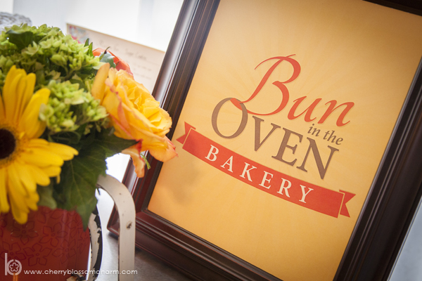 Bun in the Oven Baby Shower Decor