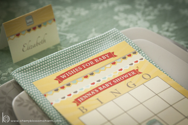 Bun in the Oven Baby Shower - Printable Bingo and Wishes for Baby Cards